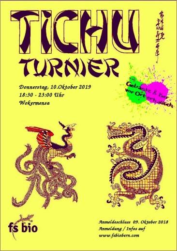 Tichu Turnier Flyer