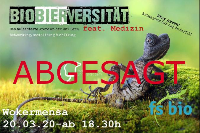 Biobierversitaet ABGESAGT